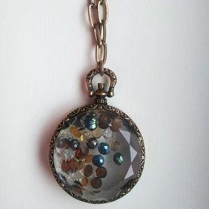 Long Globe Necklace